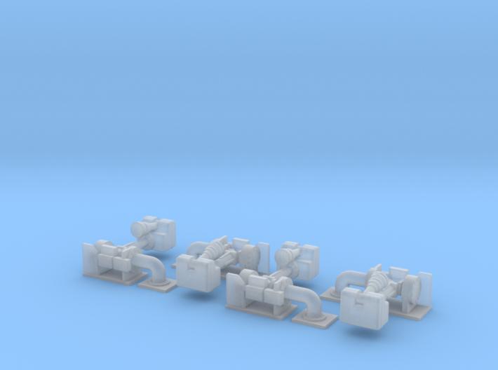 Wasserwerfer Alco 4 st - 1/87 3d printed