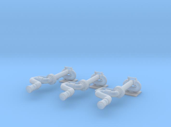 Wasserwerfer Magirus 3st - 1/87 3d printed