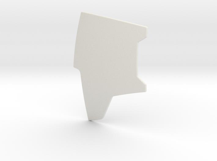 Boba Fett Right Chest Plate 3d printed