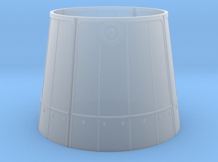 Apollo SLA IU Partial 1:100 3d printed