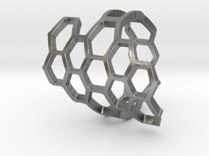 HoneyComb Ring2 3d printed