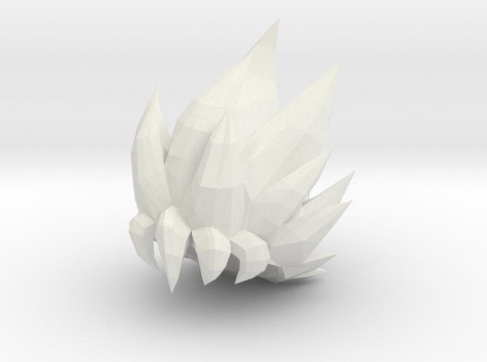 Custom Goku SSj Inspired MINIMATE 3d printed