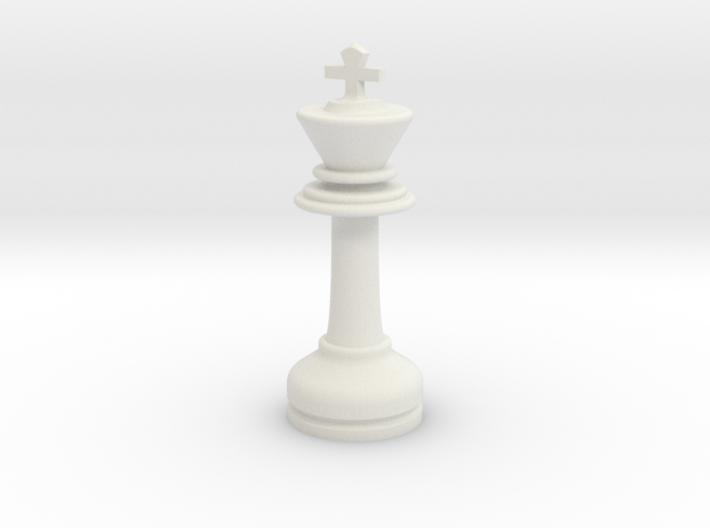 MILOSAURUS Chess LARGE Staunton King 3d printed