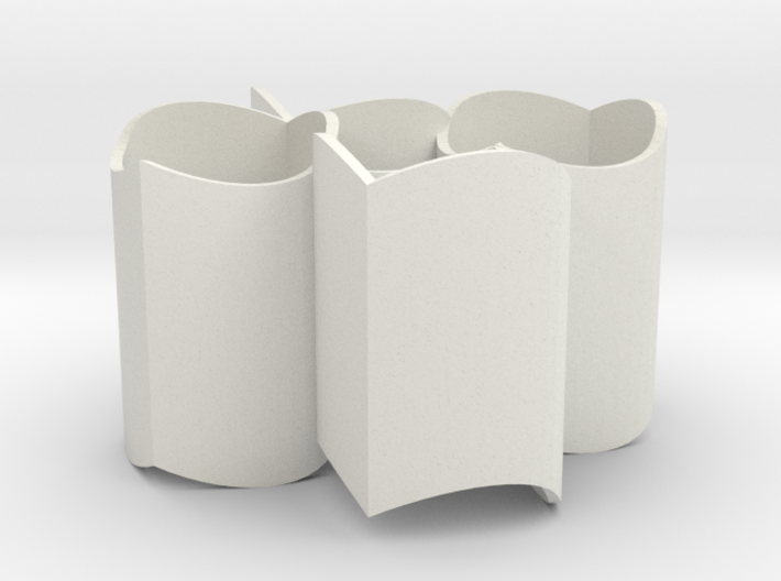 Improved Ambiguous Cylinder Illusion (Layout 5) 3d printed
