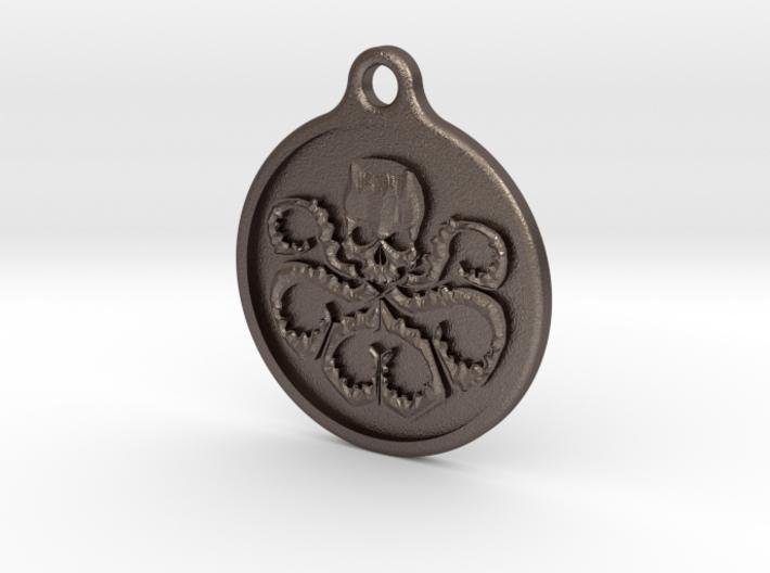 Hydra Keychain 3d printed