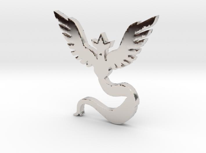 Team Mystic - Pokemon Go 3d printed
