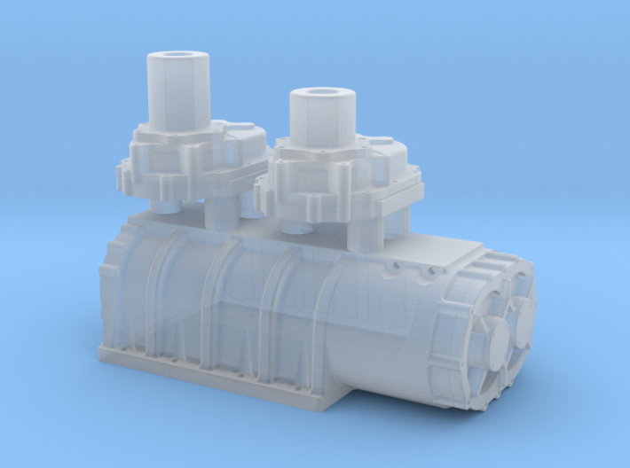 1/64 Scale 18-71 Kobelco Blower 3d printed