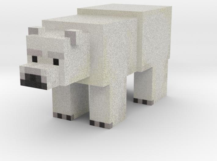 Polar Bear 3d printed