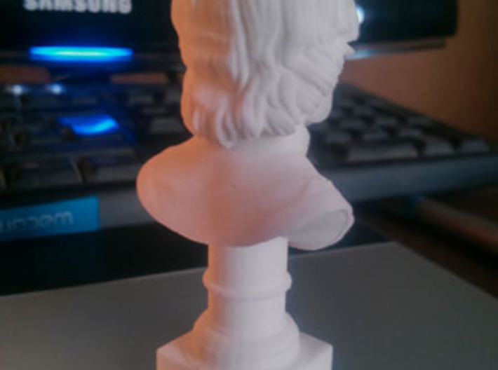 Tyrion Lannister Bust 8cm height  3d printed