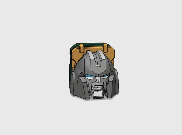 Little Heracles' Head for Energon Jeep 3d printed