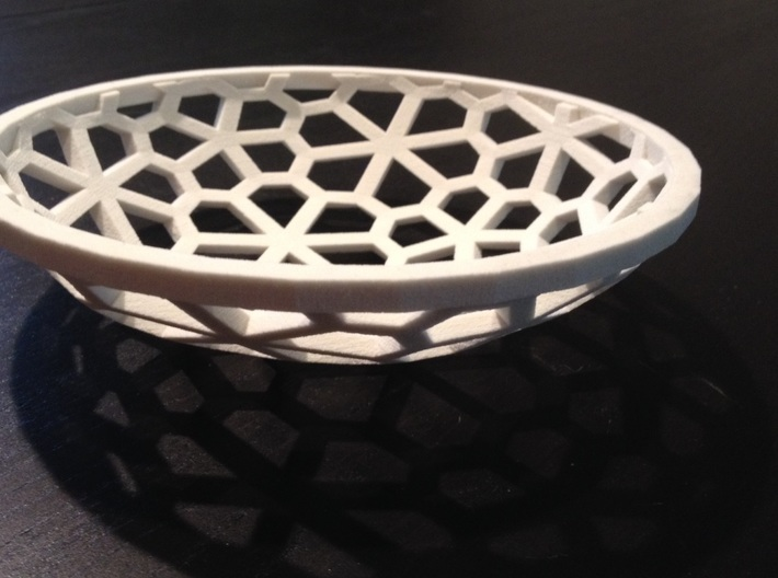 Flower Bowl  3d printed