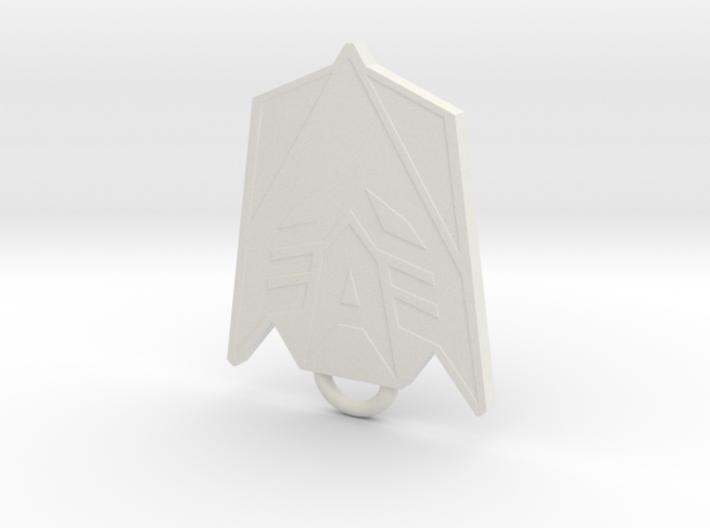 Decepticon Fan Keychain 3d printed