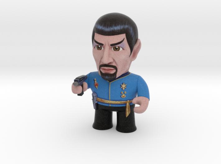 Mirror Spock Star Trek Caricature 3d printed Mirror Spock Star Trek Caricature