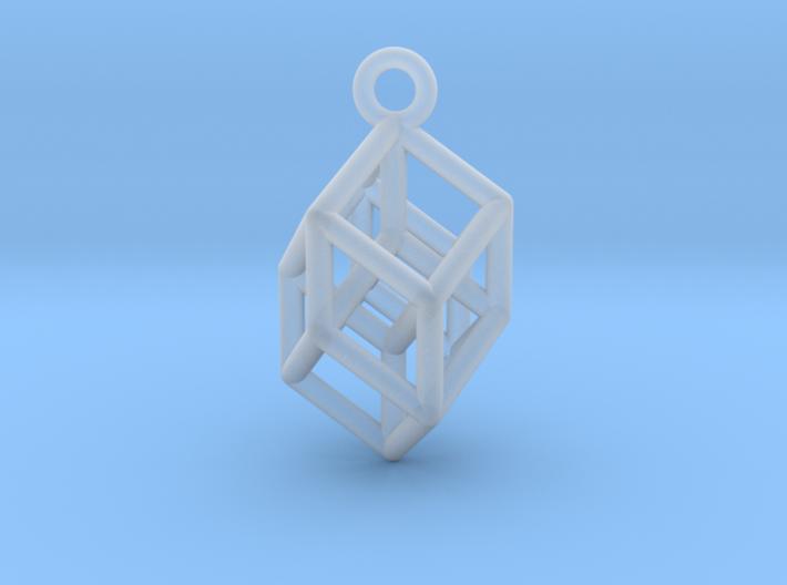 Tesseract 1 3d printed