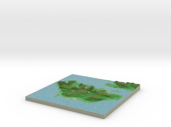 Terrafab generated model Thu Jul 14 2016 12:58:14 3d printed