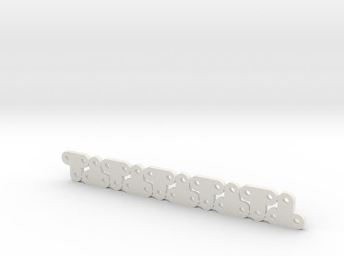 Lüfterhalter 3x kurz 4mm N10 V1 3d printed
