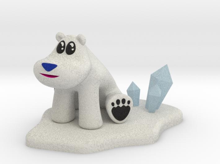 Polar Bear from Crash Bandicoot (Larger) 3d printed