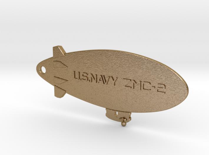 ZMC-2 Navy Blimp Keyfob 3d printed