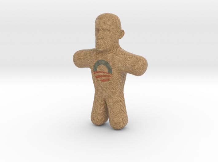 Obama Voodoo Doll - Color 3d printed Obama Voodoo Doll - Color