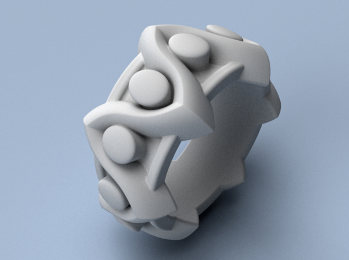 To Zig or To Zag - Size 12 3d printed
