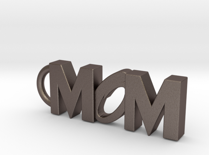 Mom Keychain Tag 3d printed