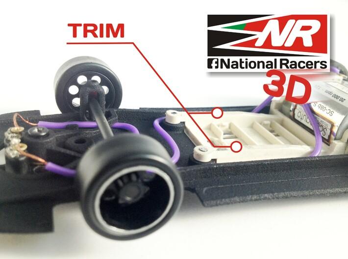 3D chassis - Fly Porsche 908 Flunder/Flunder LH (S 3d printed