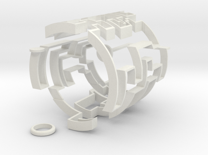 Cylindric Maze 3d printed