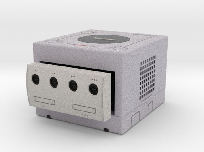 1:6 Nintendo Gamecube (Platinum) 3d printed