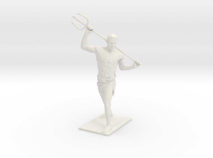 Young Poseidon 3d printed