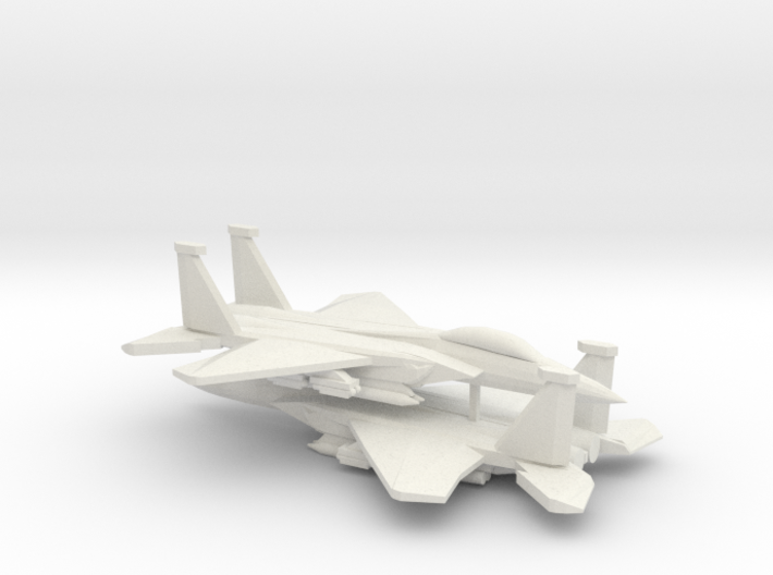 1/350 F-15E Advanced Strike Eagle (x2) 3d printed