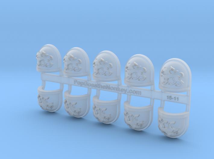 10x Deimos - G:7a Shoulder Pads 3d printed