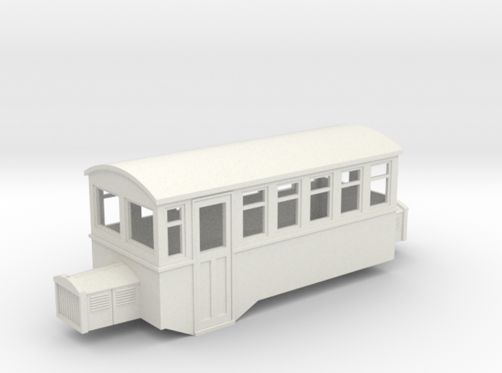 009 HOe Railbus 41 double ended 3d printed