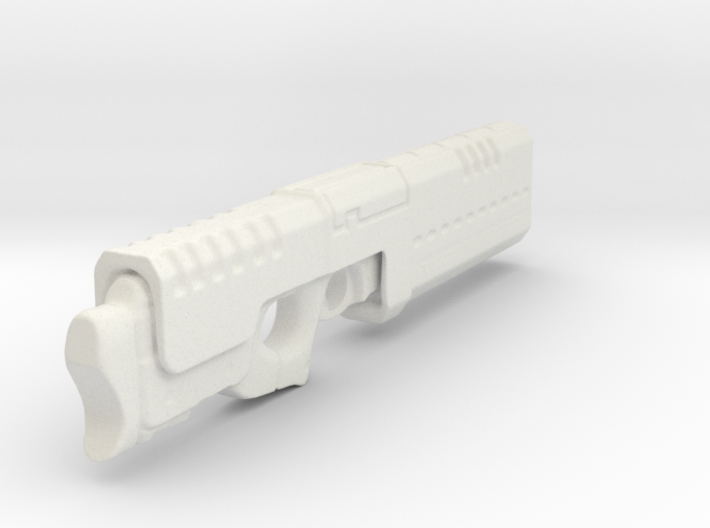 Railgun 1/6th Scale Folded - 5.5inches long 3d printed