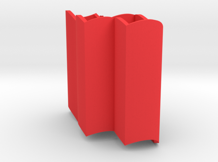 Improved Ambiguous Cylinder Illusion (Layout 7) 3d printed