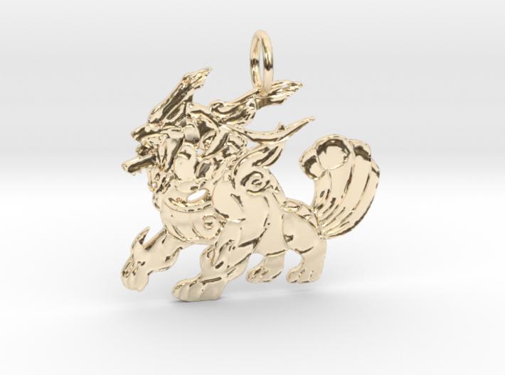 3Heads Keychain 3d printed