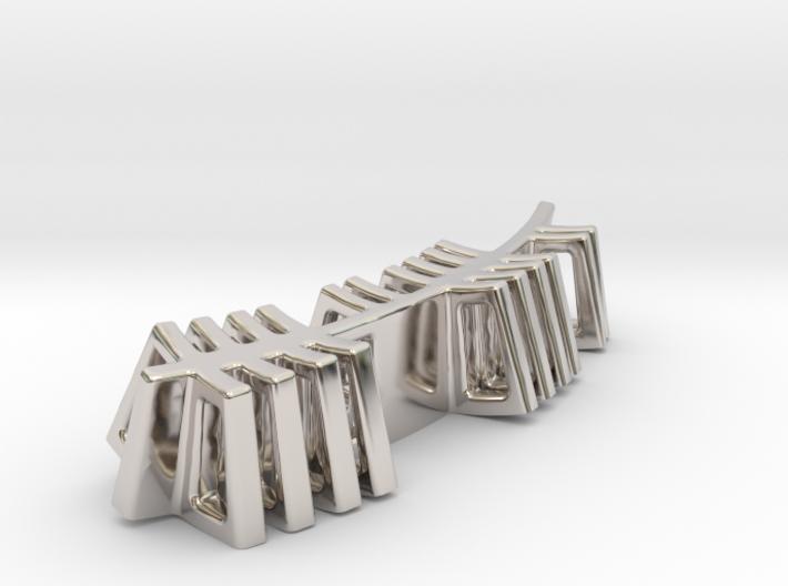 Edel Ogham Pendant/Keyring 3d printed