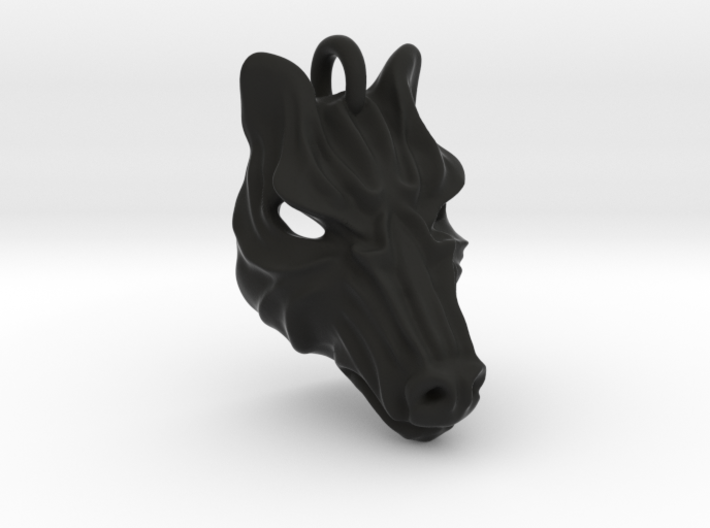 Plastic Zebra Small Pendant 3d printed