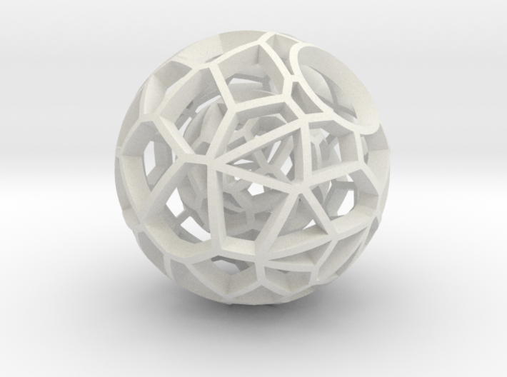 Intricate Dream Within A Dream Pendant 3d printed