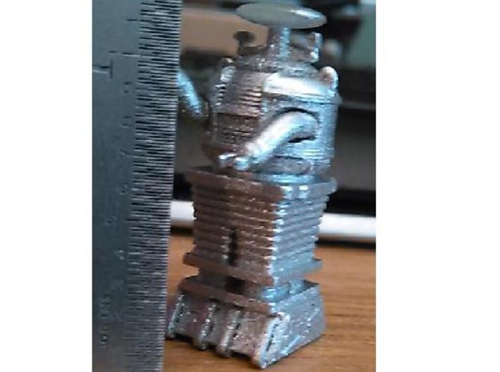 1.22 inches Tall J2 Bot-x-97-B9-D5 3d printed Frosted Ultra Detail