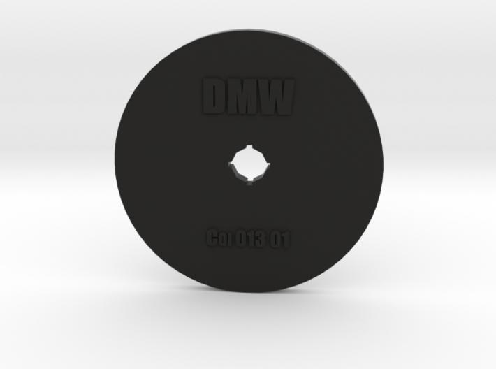 Clay Extruder Die: Coil 013 01 3d printed