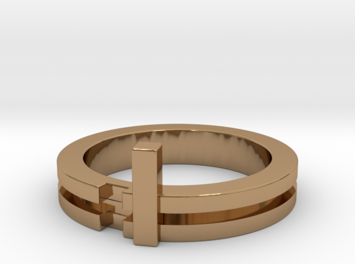 Stackable Ring Size 7 3d printed