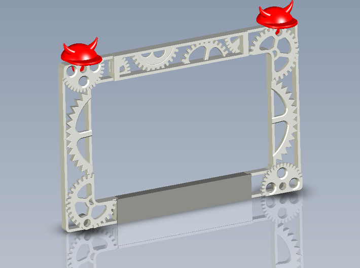 AC/DC Stage Prt#1 Side Gears 3d printed