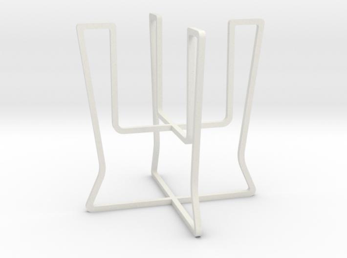Plant holder elegant lines 3d printed
