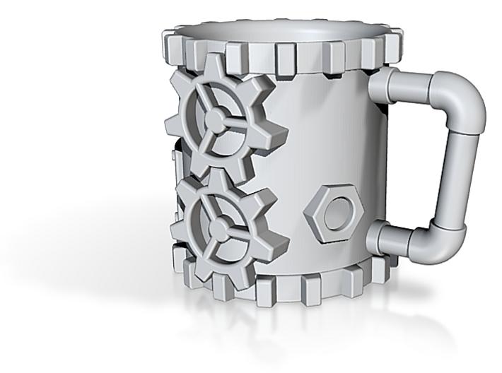 Steampunk Coffee Mug 3d printed