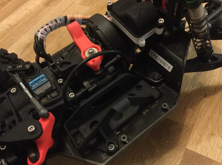 Vaterra Twin Hammers 2S Battery Holder 3d printed