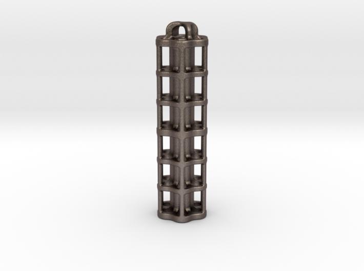 Tritium Lantern 5E (3x50mm/stacked 3x25mm Vials) 3d printed