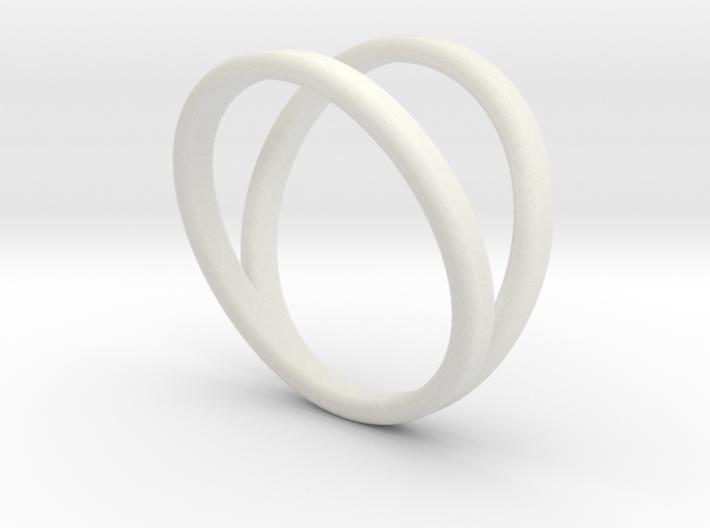 Split Ring Size 9 3d printed