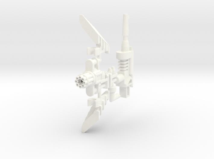 PCC Heavytread Mine Plow set 3d printed
