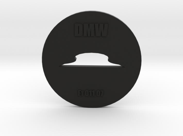 Clay Extruder Die: Footer 011 07 3d printed