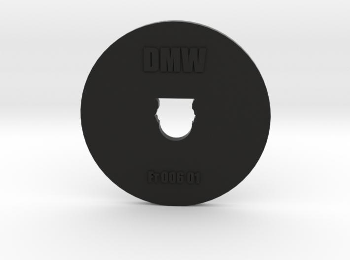 Clay Extruder Die: Footer 006 01 3d printed